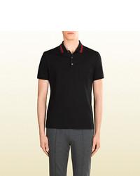 Gucci Cotton Jersey Polo Shirt