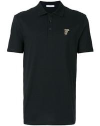 Versace Collection Half Medusa Patch Polo Shirt