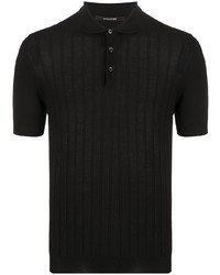 Tagliatore Knitted Cotton Polo Shirt