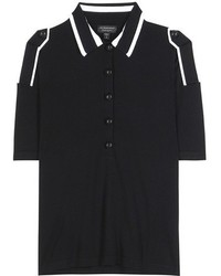 Burberry Knitted Wool Polo Shirt