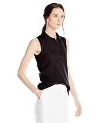 Lacoste Sleeveless Stretch Pique Slim Fit Polo Shirt