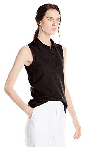 eab78718f9 $27, Lacoste Sleeveless Stretch Pique Slim Fit Polo Shirt