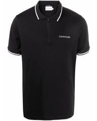 Calvin Klein Logo Print Polo Shirt
