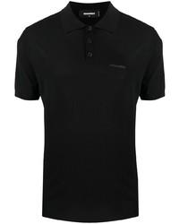 DSQUARED2 Logo Print Short Sleeve Polo Shirt