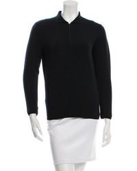 Prada Long Sleeve Polo Top