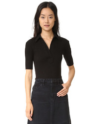 Helmut Lang Luxe Polo Tee