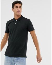 Esprit Organic Polo Shirt In Black