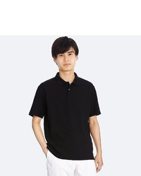 Uniqlo Relaxed Fit Short Sleeve Polo Shirt