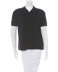 Lanvin Short Sleeve Polo Top