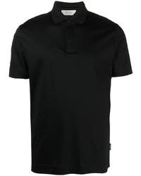 Z Zegna Short Sleeved Cotton Polo Shirt