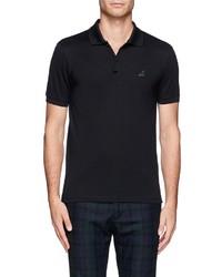 Lanvin Sneaker Logo Cotton Polo Shirt