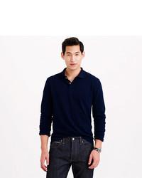 bbf64317a J.Crew Tall Long Sleeve Classic Piqu Polo Shirt, $49 | J.Crew ...