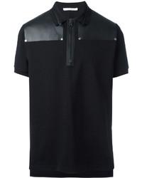 Givenchy Zip Collar Polo Shirt