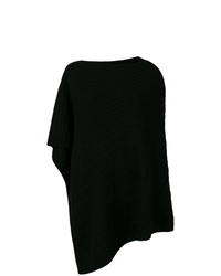 Pringle Of Scotland Overwashed Cable Poncho