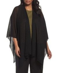 Plus size hemp blend poncho wrap medium 4354398