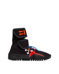 7f1f346ae70 Off-White Arrow Printed Wrap High Top Sneakers
