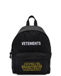 Vetements Black Star Wars Edition Logo Backpack