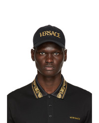 Versace Black And Gold Cap