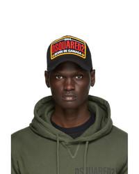 DSQUARED2 Black Baseball Cap