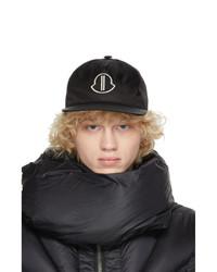Rick Owens Black Moncler Edition Nylon Cap