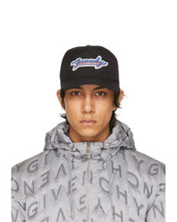 Givenchy Black Neon Patch Cap