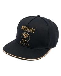 Moschino Double Question Mark Logo Cap