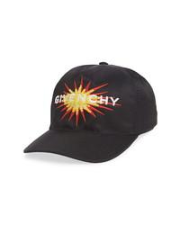 Givenchy Fleece Burst Logo Baseball Cap