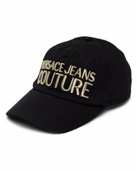 VERSACE JEANS COUTURE Logo Embroidered Cap