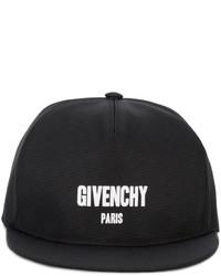 Givenchy Logo Printed Cap