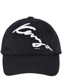 Kenzo Logo Printed Nylon Baseball Cap