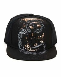 Marcelo Burlon County of Milan Marcelo Burlon Bayo Printed Flat Bill Cap Black