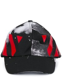 Off-White Painted Print Baseball Cap