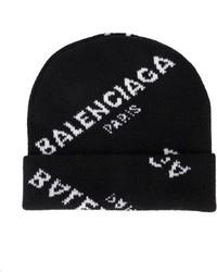 Balenciaga All Over Beanie Hat