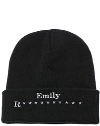 Amily Embroidered Beanie Hat