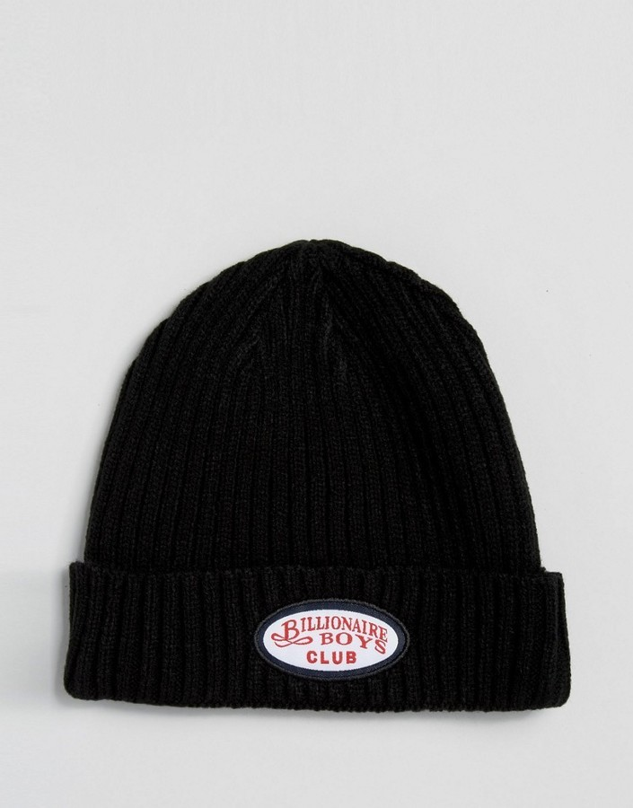 80f269e2386f9 Billionaire Boys Club Patch Beanie
