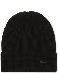 BOSS Febbo Knitted Wool Beanie Hat