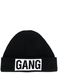 Neil Barrett Gang Patch Beanie Hat