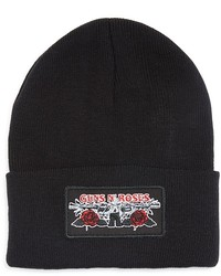 Bravado Guns N Roses Logo Patch Beanie