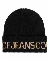 VERSACE JEANS COUTURE Logo Beanie Hat