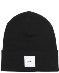 Oamc Logo Patch Wool Beanie Hat