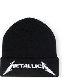 Metallica Logo Embroidered Knitted Beanie