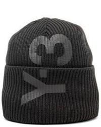 Y-3 Ribbed Knit Beanie