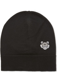 Kenzo Tiger Embroidered Wool Beanie