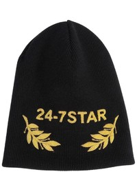 DSQUARED2 Wool Beanie Hat W Embroidery