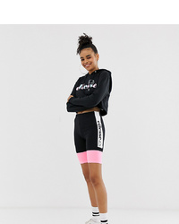 Ellesse Legging Shorts With Side Logo In Pastel Colour Block