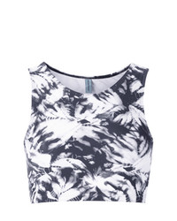 Lygia & Nanny Printed Cropped Top