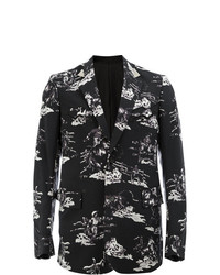 Takahiromiyashita The Soloist Printed Button Blazer