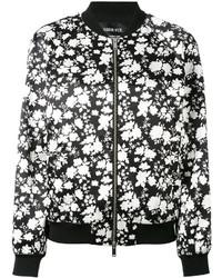 Golden Goose Deluxe Brand Floral Print Bomber Jacket