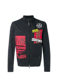 DSQUARED2 Patchwork Jacket