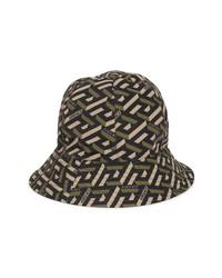 Versace La Greca Monogram Bucket Hat